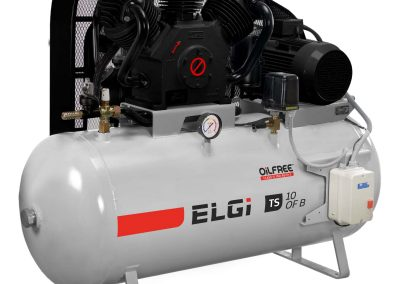 ELGi Oil Free Reciprocating Piston Air Compressors 10-15HP