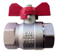BALL VALVE - BRASS - FI X FI